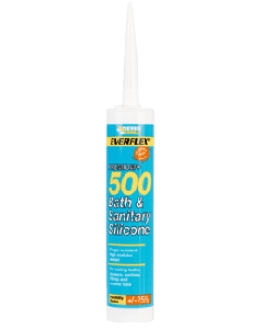 500 Bath & Sanitary Silicone White