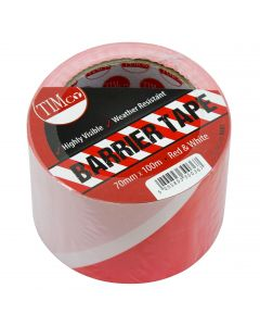 PE Barrier Tape - Red/White