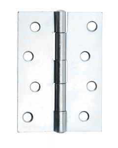 "1137 4"" BZP Butt Hinge (Pair)"