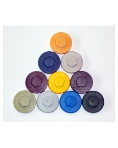 Hex Cover Cap - Wedgewood Blue