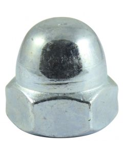 Hex Dome Nut DIN 1587 - BZP