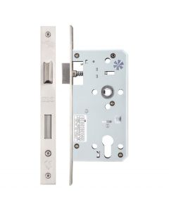ZDL7255SS Euro Sash Lock Case Satin Stainless