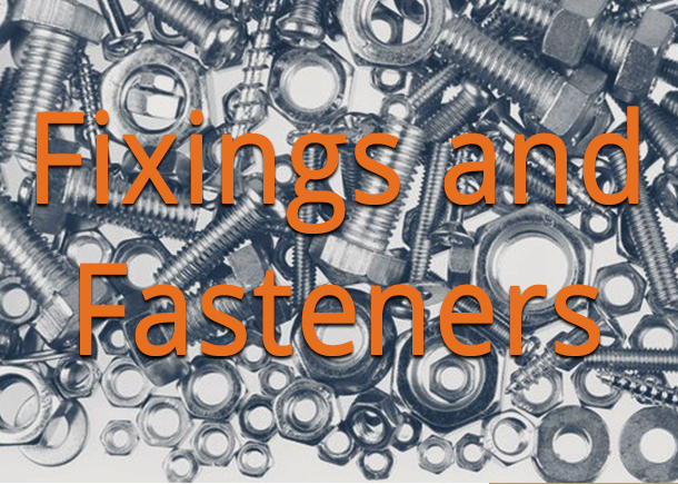 Our fixings and fasteners range