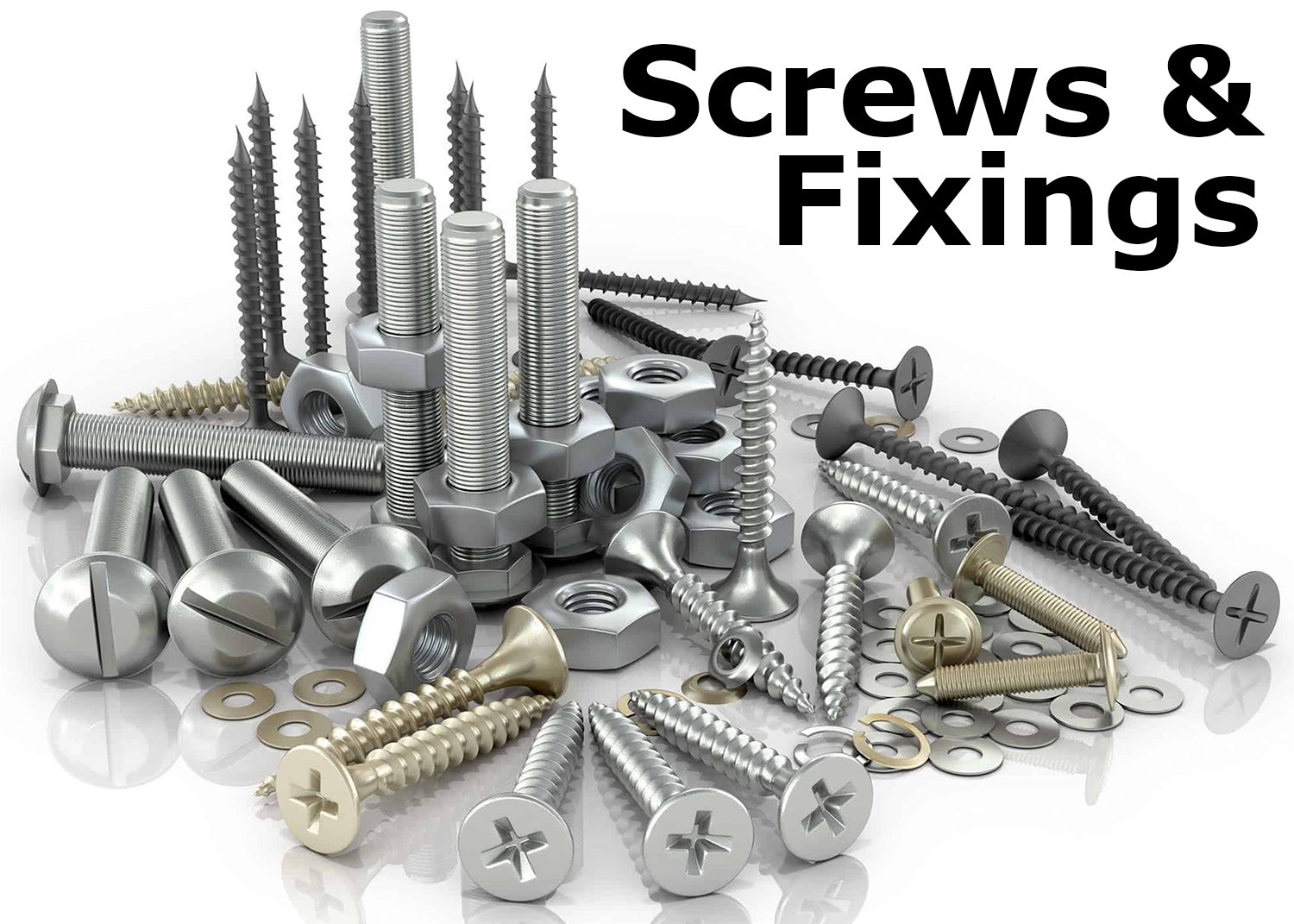 Our Screws & Fixings Range